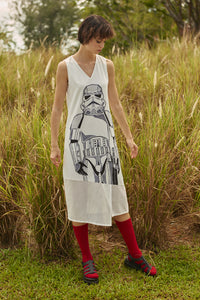 Stormtrooper V Neck Dress