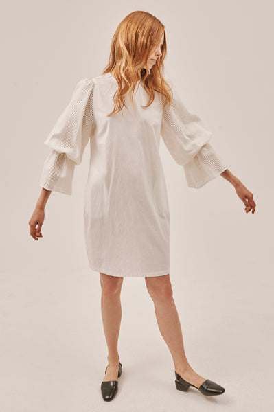 Lordyn Puff Sleeves Dress