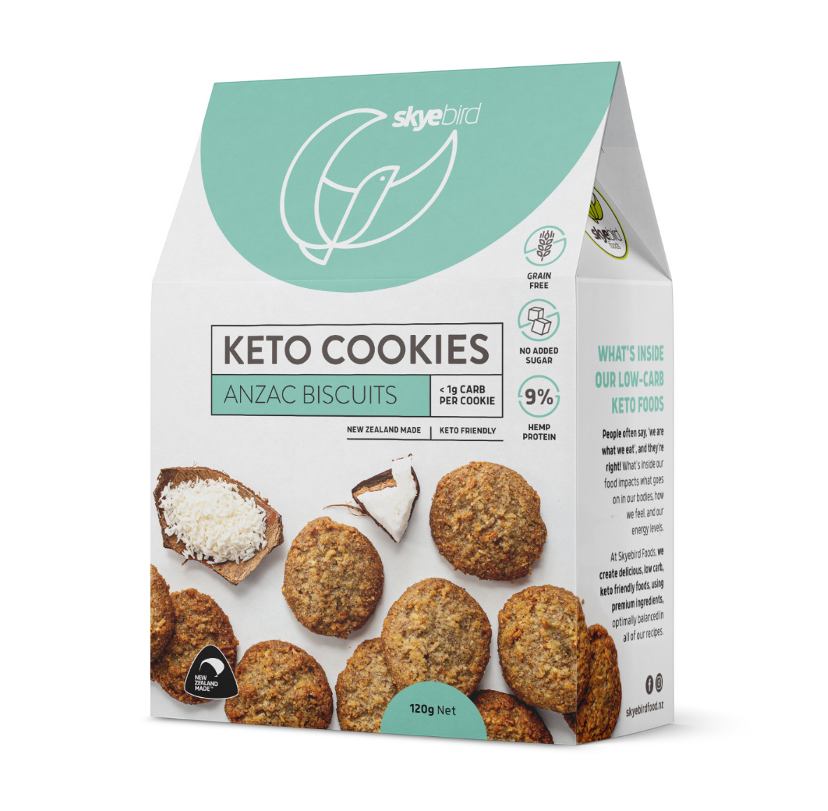 Chewy Keto ANZAC Biscuits