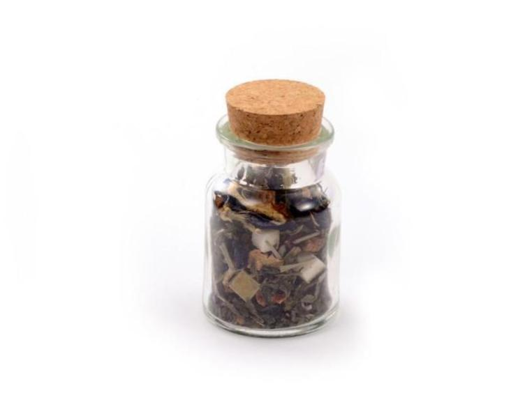 Glass Cork Jars