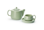 Sage Green Cup and Saucer