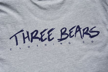 Load image into Gallery viewer, Three Bears Tee - Grey