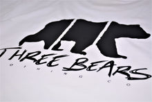 Load image into Gallery viewer, Three Bears Tee - White