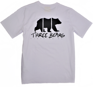 Three Bears Tee - White