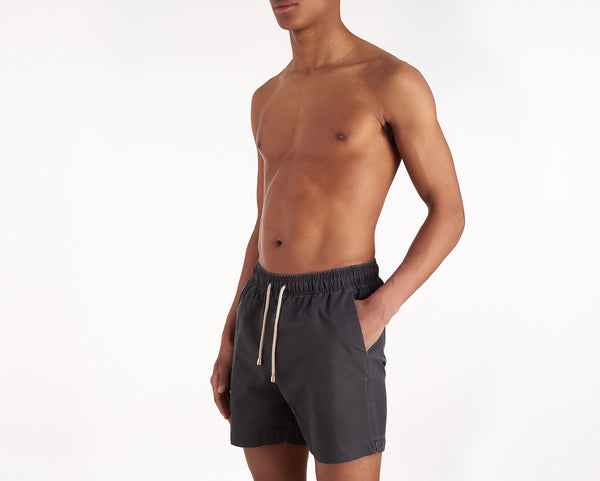 Swim Shorts - Hamptons - Black Wash Out