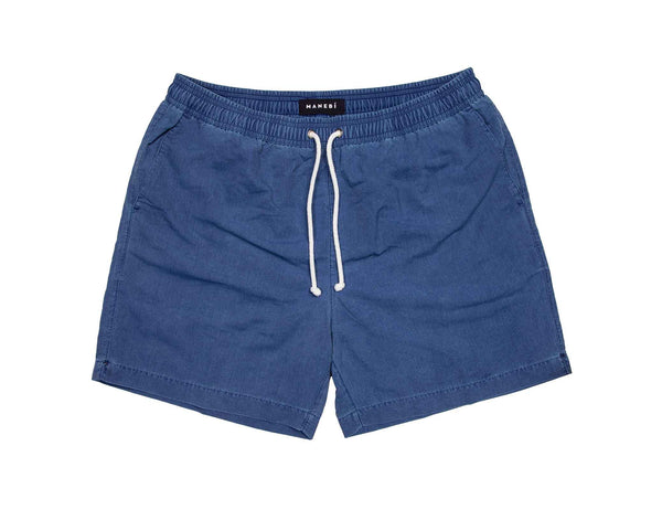 Swim Shorts - Navy Wash Out