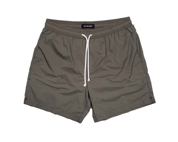 Swim Shorts - Kaki Green Recycled Ultra Light