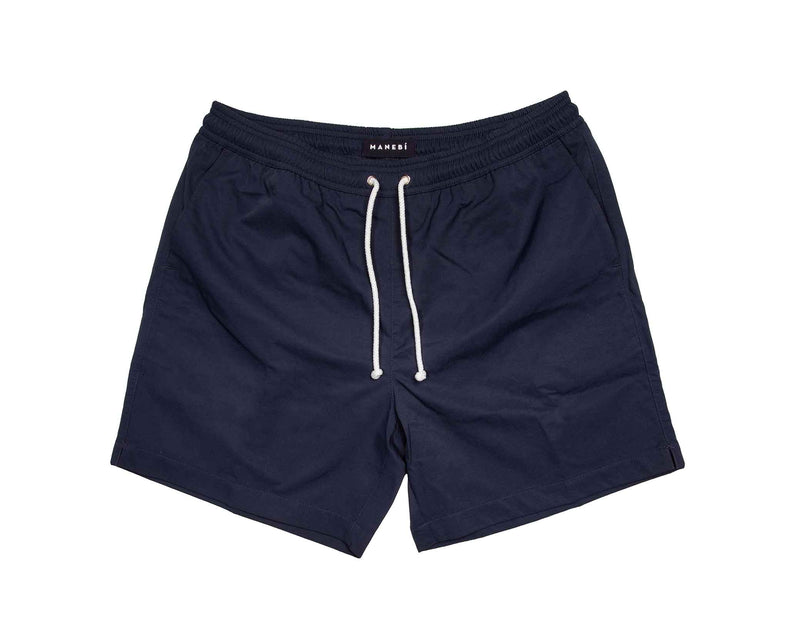 Swim Shorts - Night Blue Cotton Touch