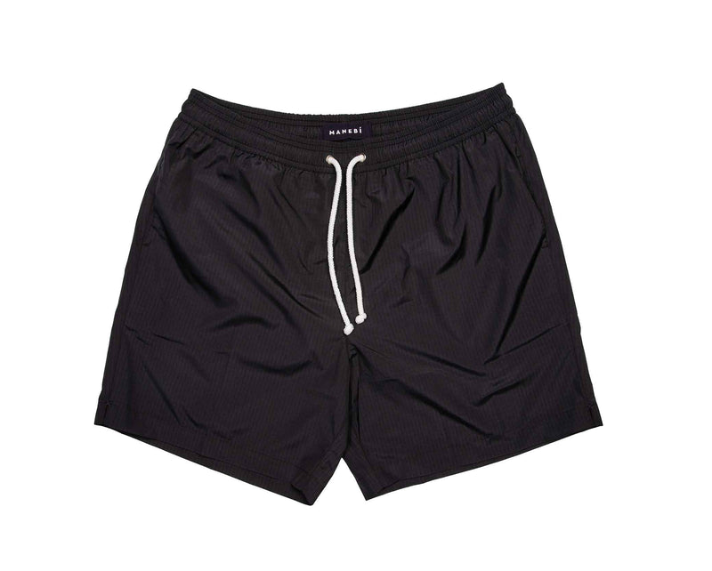Swim Shorts - Black Recycled Ripstop