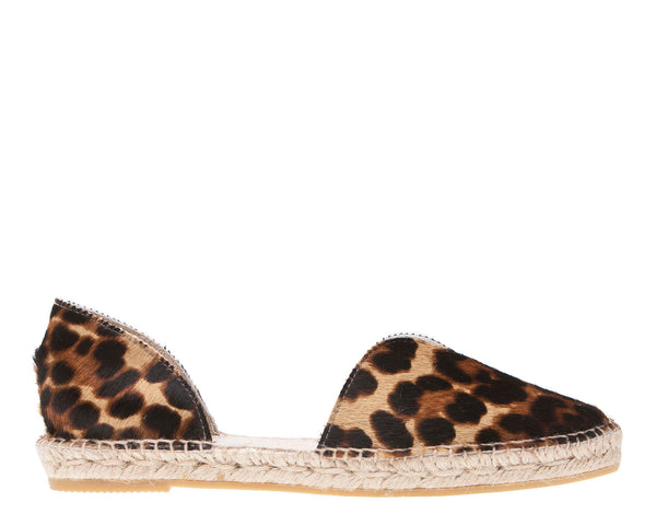 Open-side Flats - Dakota - Leopard