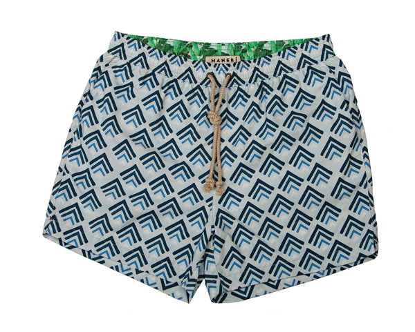 Swim Shorts - Ethnic Triangles