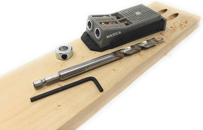Massca Pocket Hole Jig Set Bundle