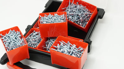 Massca Pocket-Hole Screw Kit 1000 Units | Self Tapping Zinc Plated Screws