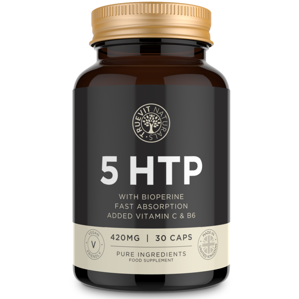 High Strength 5HTP - 420MG, 30 Capsules - truevit