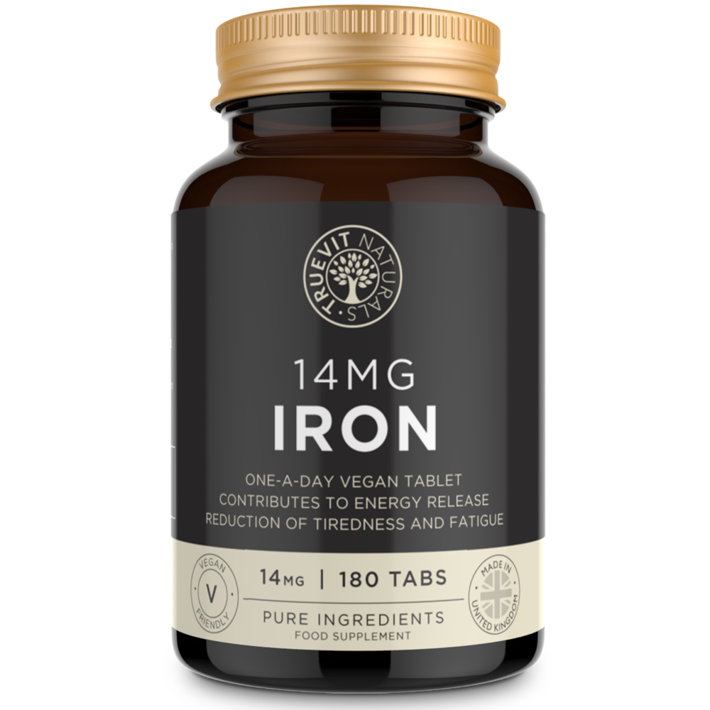 Iron Tablets - 14MG, 180 Tablets