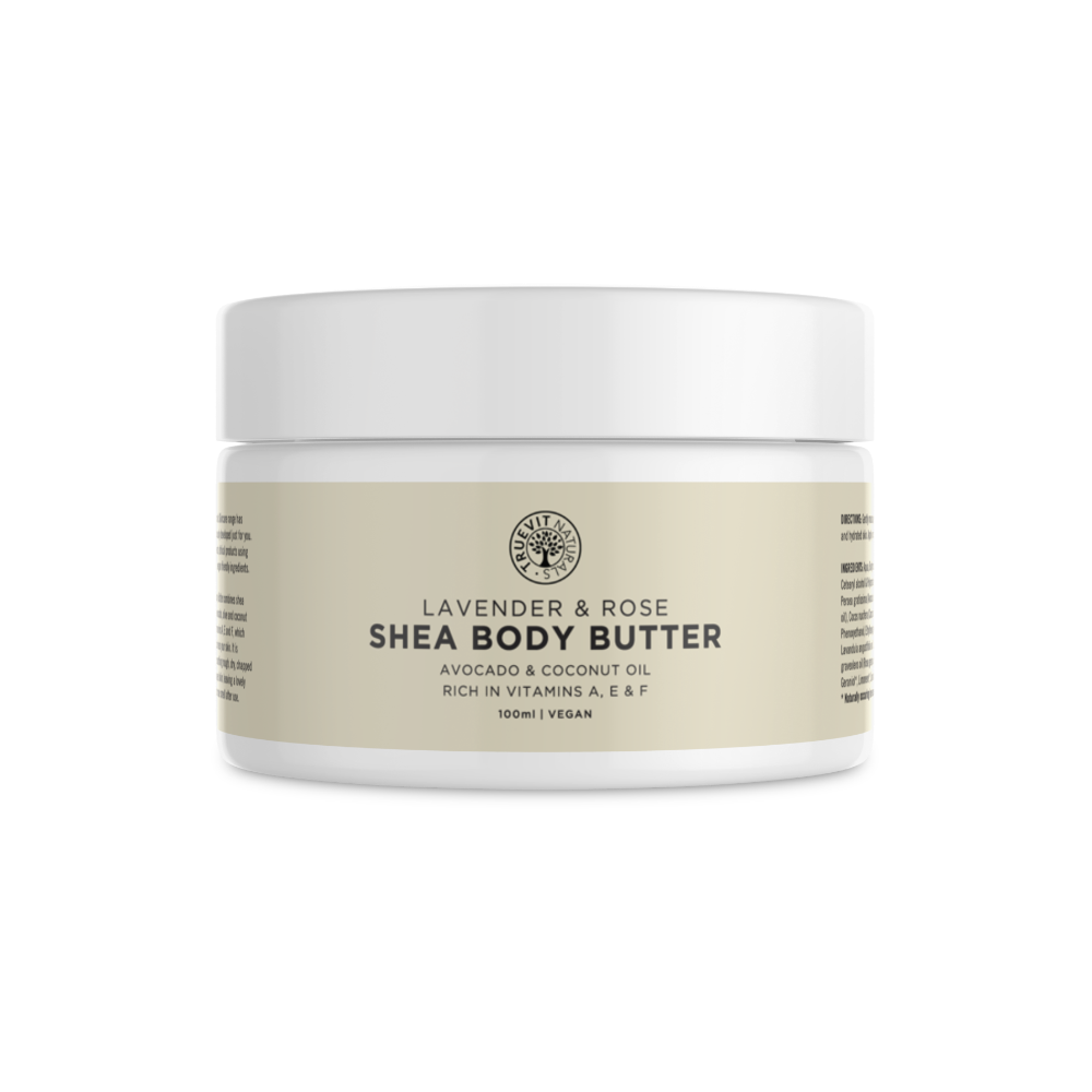 Shea Butter Body Butter Lotion with Avocado & Coconut Oil