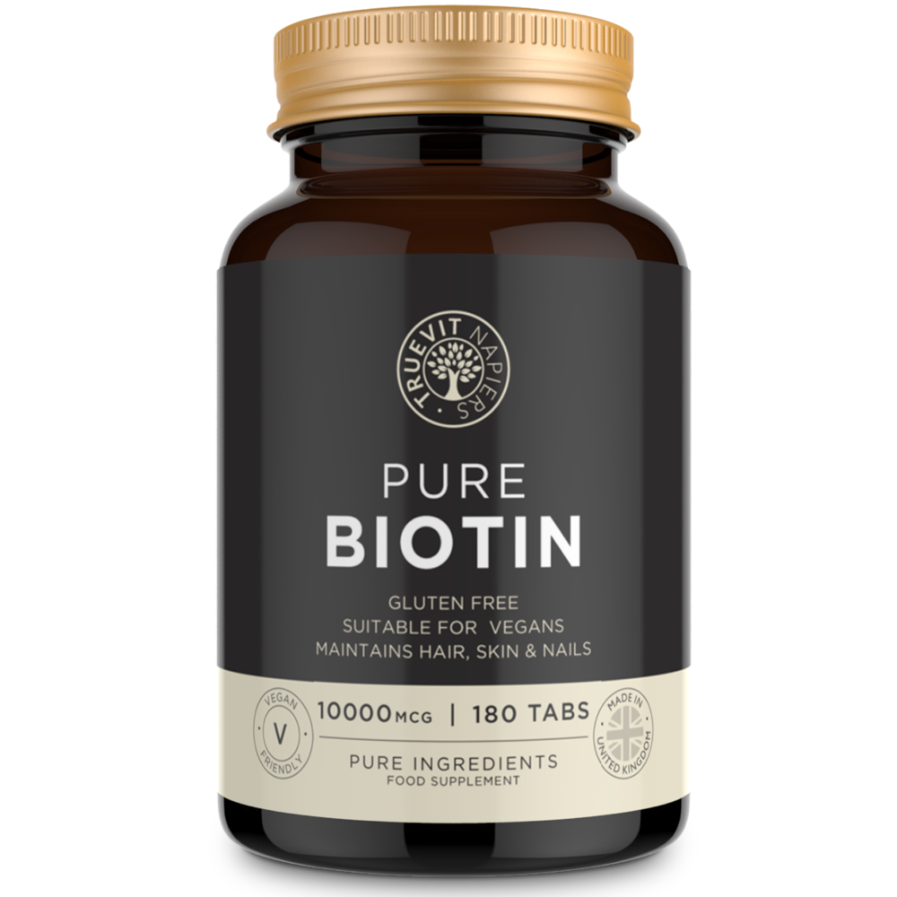 Biotin Tablets - 10,000 MCG High Strength