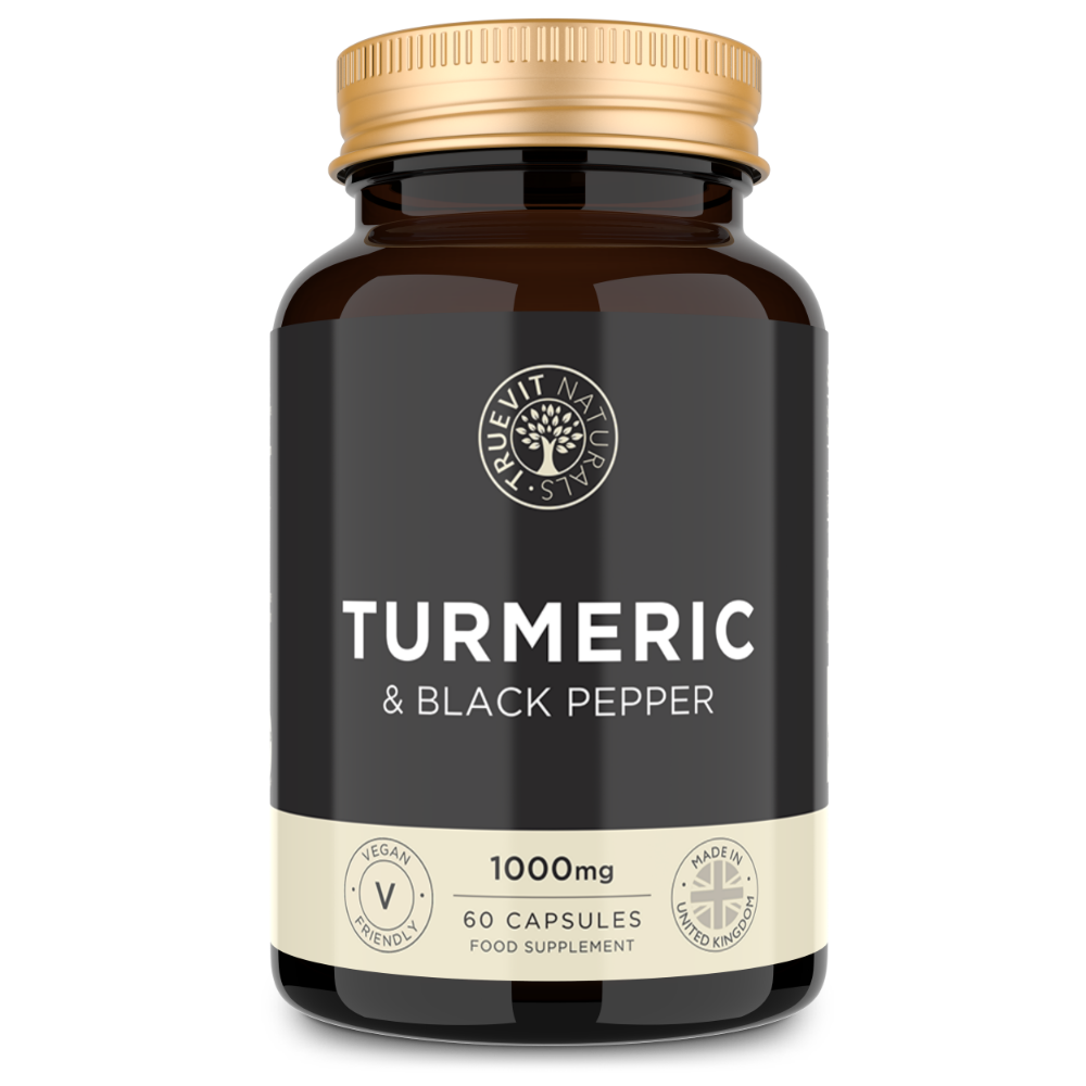 Turmeric Herbal Supplement with Black Pepper