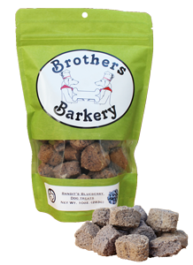 Brothers Barkery ~ Bandit's Blueberry 10oz.
