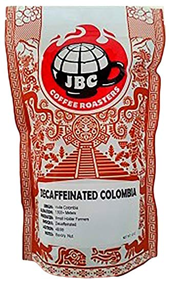JBC ~ Whole Bean Decaf Colombia Coffee 12 oz