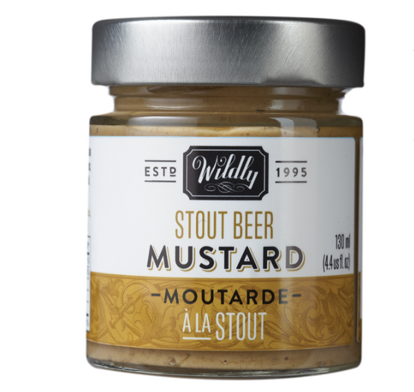 Wildly Delicious ~ Stout Beer Mustard 4.4 oz