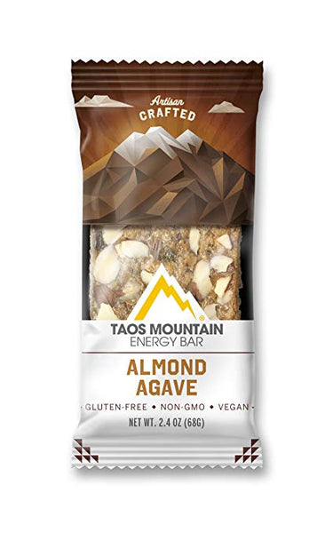 Taos Mountain Energy Bar - Almond Agave 2.4 OZ