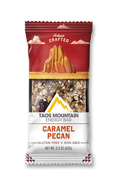 Taos Mountain Energy Bar - Caramel Pecan 2.4 OZ