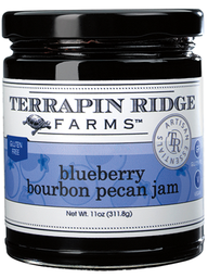 Terrapin Ridge Farms ~ Blueberry Bourbon Pecan Jam, 11 oz