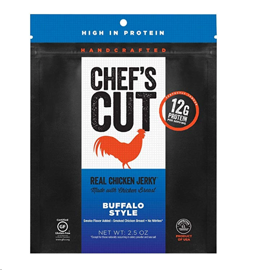 Chef's Cut ~ Tender Real Chicken Jerky (Buffalo Style), 4 oz