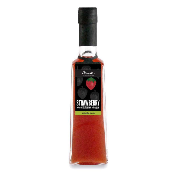 Olivelle Strawberry Barrel Aged White Balsamic Vinegar
