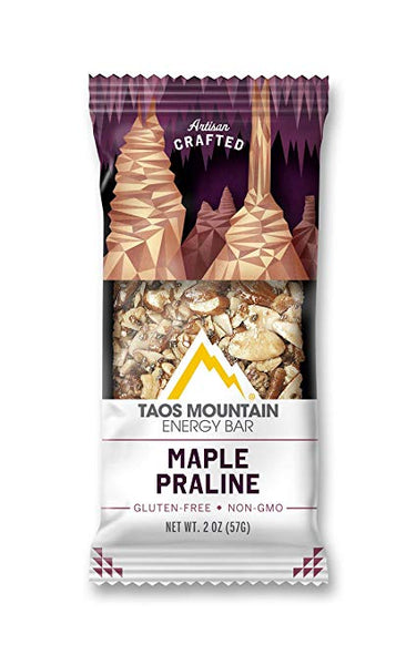 Taos Mountain Energy Bar - Maple Praline 2.4 OZ