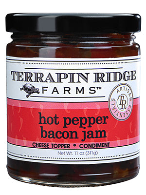 Terrapin Ridge Farms ~ Hot Pepper Bacon Jam, 11 oz