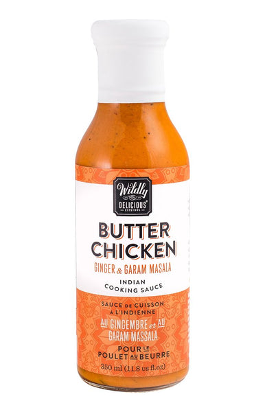 Wildly Delicious ~ Butter Chicken, Indian Cooking Sauce 11.8 oz.