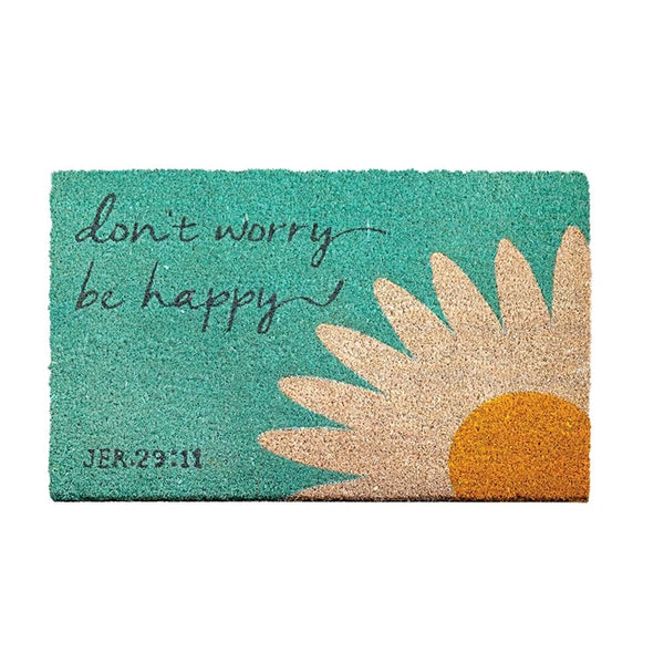 Jeremiah 29:11 Don't Worry - Doormat