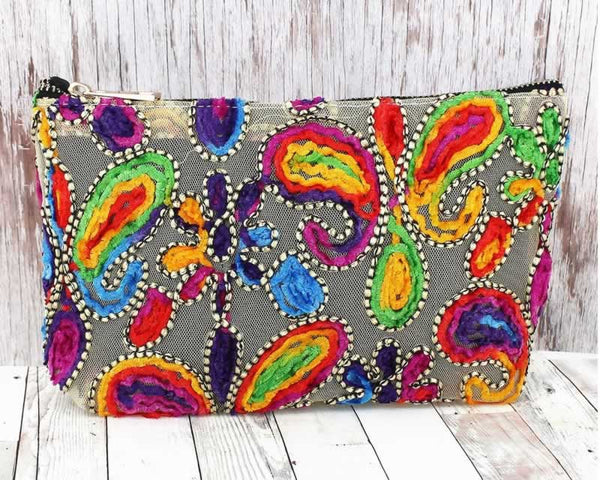 Cosmetic Bag - Paisley / GraceMercantile.com