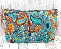 Paisley Cosmetic Bag - GraceMercantile.com