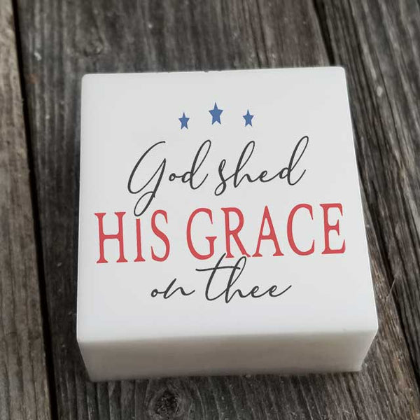 God Shed His Grace on Thee Soap - Grace Mercantile