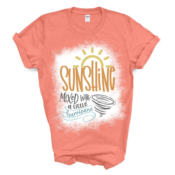 Sunshine Mixed With A Little Hurricane Tee / Graphic T-Shirt