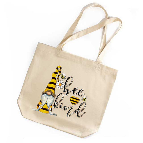 Bee Kind Gnome Tote Bag - Gracemercantile.com