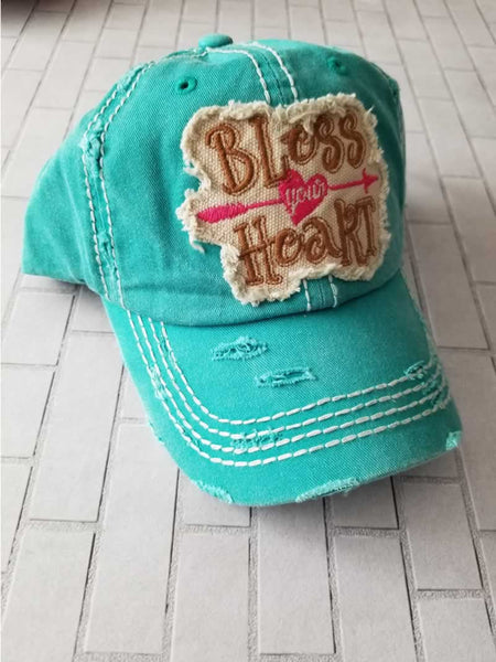 Bless Your Heart Baseball Hat / Cap - Grace Mercantile