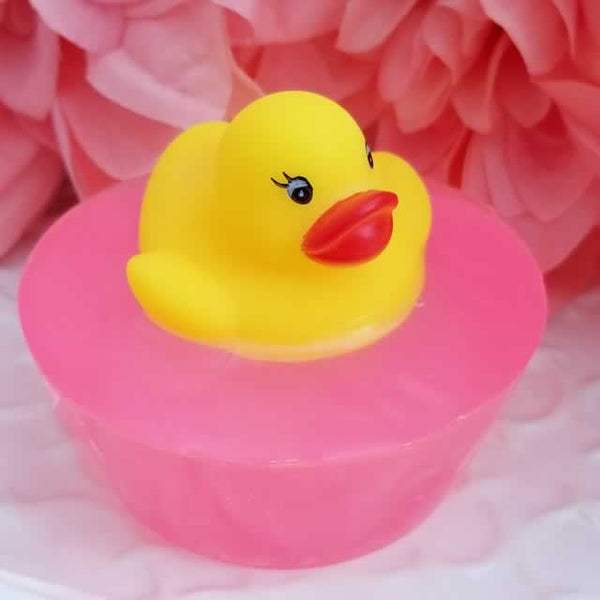 Mini Rubber Ducky Soap - Pink