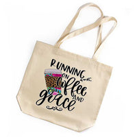 Coffee and Grace Tote Bag