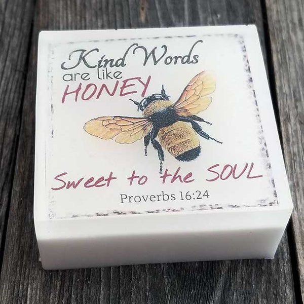 Proverbs 16:24 Bible Verse Soap
