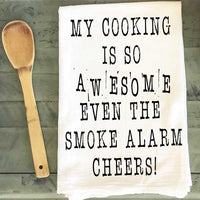 Tea Towel - My Cooking is so Awesome