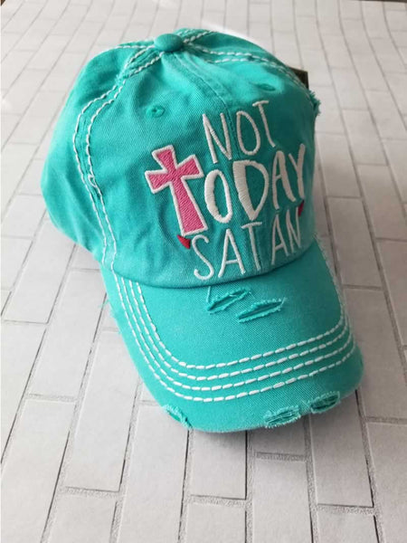 Not Today Satan Cap / Baseball Hat