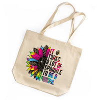 Principal Appreciation Tote Bag Gift