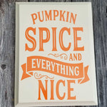 Pumpkin Spice Sign - Grace Mercantile