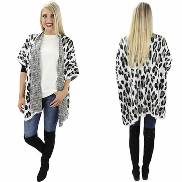 Snow Leopard Sweater