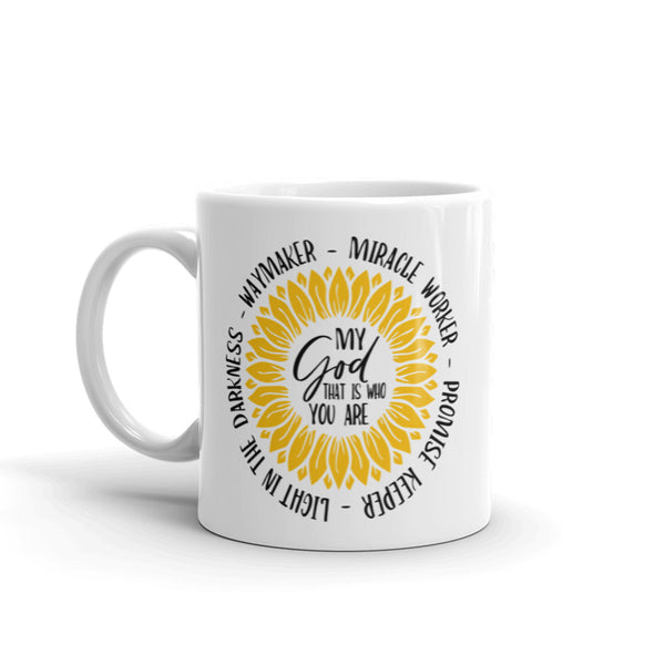 Coffee Mug - Waymaker My God