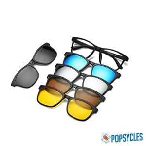 Magnetic Polarized 5-in-1 Shades